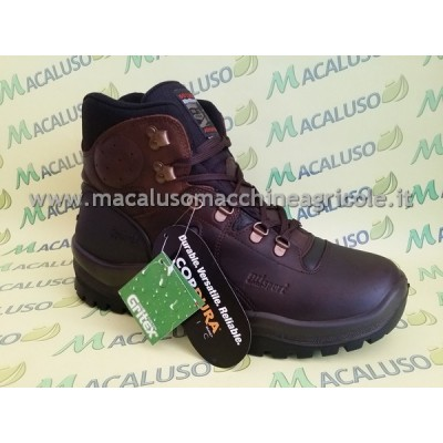 Scarponcino Grisport treking fiore con suola New Hiking marrone nero art.629DV.9G