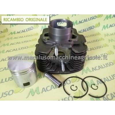 Cilindro Ape TM 703 completo di pistone e fasce 828864 gruppo termico