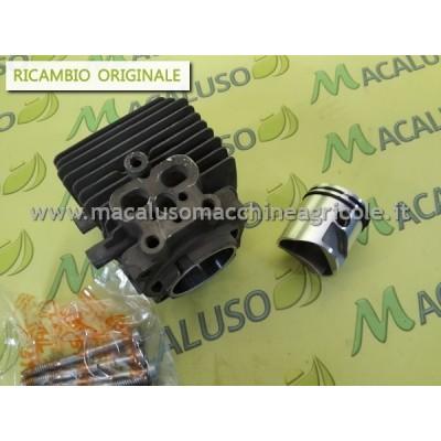 Cilindro pistone per Soffiatore e Aspiratore Stihl BG86 SH56 D.34 art.42410201203 gruppo termico