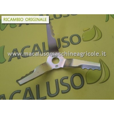 Coltello aspiratore Stihl SH55 SH86 42297680300 lama taglio sminuzzatore