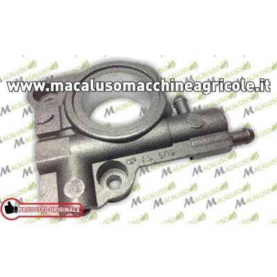 Pompa olio motosega Echo CS2600 completa ingranaggio chiocciolina metallo