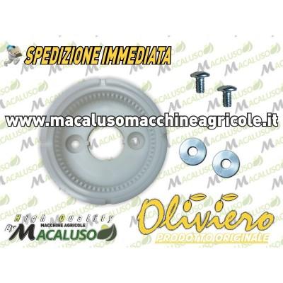 Carcassa dentata teflon X Oliviero Light + viti e boccole MOTORE 12V