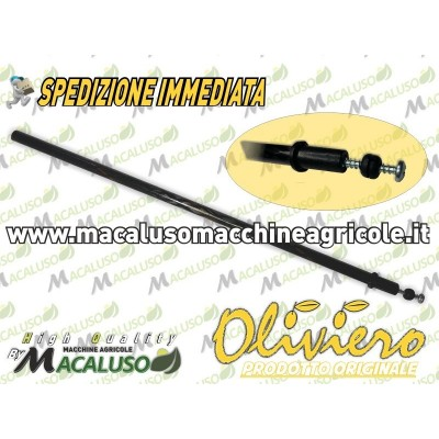 Asta carbonio abbacchiatore Oliviero Light Synthesis Classic Evolution L-Tech E-Tech astina vite e gommino