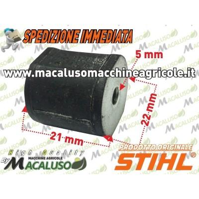 Tampone gomma motosega Stihl 010 011 MS190T antivibrante ammortizzatore 11207909600