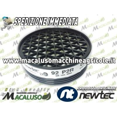 Filtro polveri fumi liquidi per maschera MASK art. 92 P2 R depuratore visiera