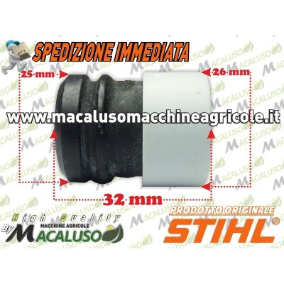 Tampone gomma motosega stihl MS210 MS250 MS390 antivibrante ammortizzatore 11237909900