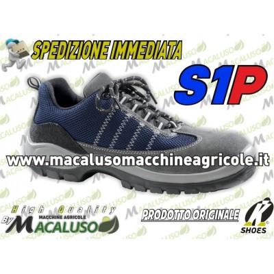 Scarpa lavoro Shoes BPR 534 S1P SRC protettiva crosta bovina scarponcino