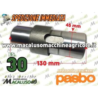 Albero porta corona motozappa Pasbo G94 es.30 asse fresa Sicilzappa Eurogreen Diesse