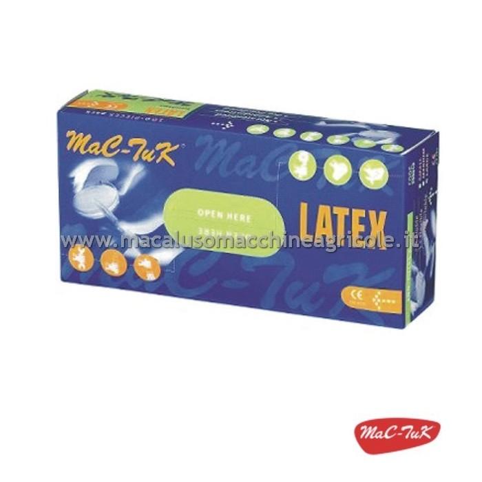 Guanti 100/% lattice naturale AQL 1,5 Latex Pro Taglia L