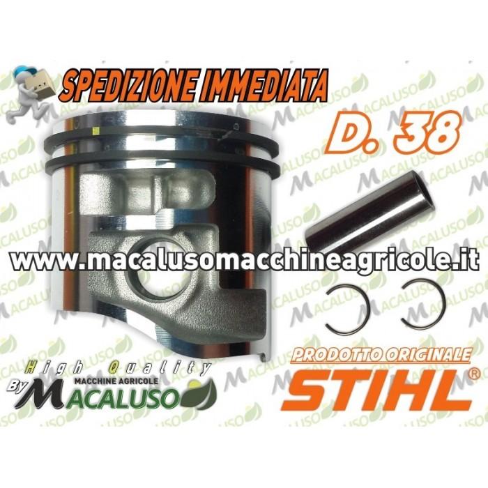 PISTONE-zylinde CILINDRO TESTATA PISTONE STIHL 017 ms170 37 mm