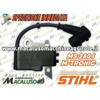 Bobina elettronica motosega Stihl MS280I M TRONIC modulo accensione 11334001353