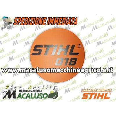 Etichetta identificativa modello Stihl 018 018C 11309671501