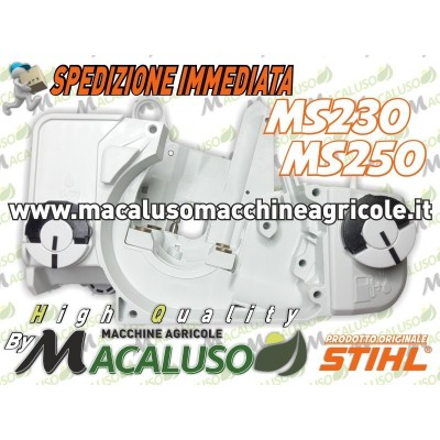 Carcassa motore completa motosega Stihl MS230 MS250 carter monoblocco 11230203033