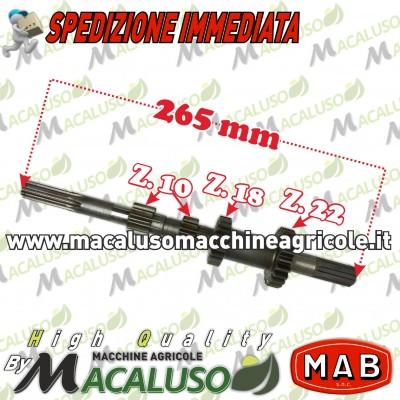 Albero primario quadruplo Mab T4 Z10 Z10 Z18 Z22 Formica Talpa Bonori 004007