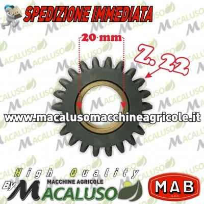 Ingranaggio retromarcia Mab T4 Z22 Formica Talpa Bonori 004320