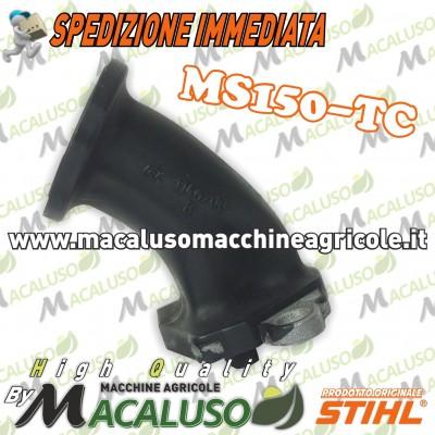 Collettore aspirazione motosega Stihl MS150TC 11461402500 manicotto elastico condotta