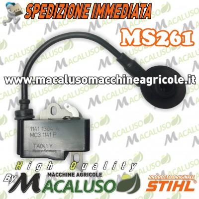 Bobina motosega Stihl MS261 modulo accensione 11414001331