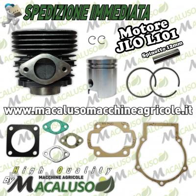 Kit cilindro pistone e serie guarnizioni JLO L101 CM101 motore 2 tempi gruppo termico L101 L