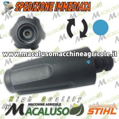 Ugello rotante idropulitrice Stihl RE88 RE98 RE118 RE119 1 punto blu turchese 49005001698