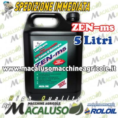Olio Roloil Zen-ms per catena motosega da 5 litri lubrificante