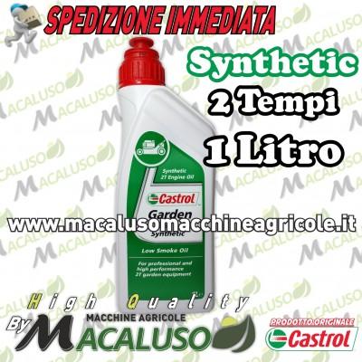 Olio miscela Castrol Garden 2T Synthetic sintetico 1 litro motore 2 tempi G151A0F