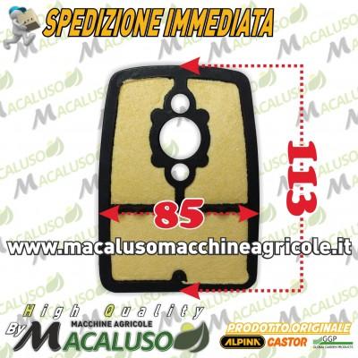 Filtro aria decespugliatore Alpina STAR36 STAR41 Castor POWER36 POWER41 depuratore pannello