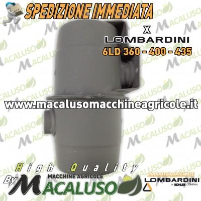 Marmitta motore Lombardini 6LD 360 400 435 LDA 520 530 ORIGINALE scarico silenziatore 005462089
