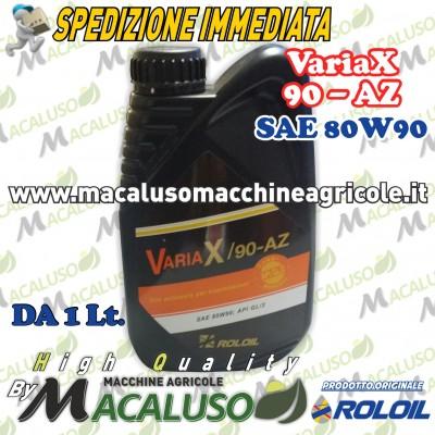 Olio per cambio e differenziali Q8 Roloil VARIAX 90AZ SAE 80W90 API GL/3