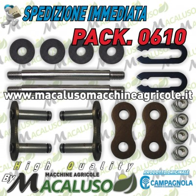 Kit 2 Prigionieri + Maglie x abbacchiatore Olistar Tuono Metal Diablo Golia Campagnola PACK0610