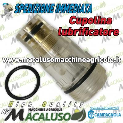 "Cupola lubrificatore ad olio 1/4"" F. motocompressore Campagnola Hobby Professional cupolina sistema lubrificazione 0202 0102"