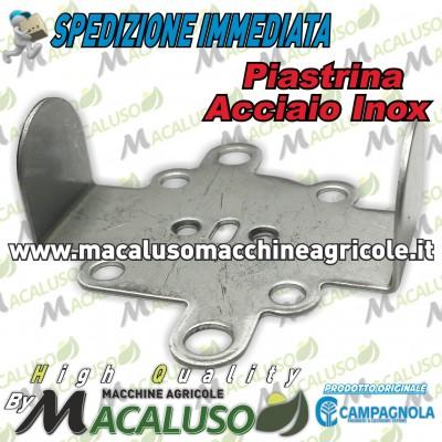 Piastra Inox per abbacchiatori pneumatici Campagnola 0156.0124