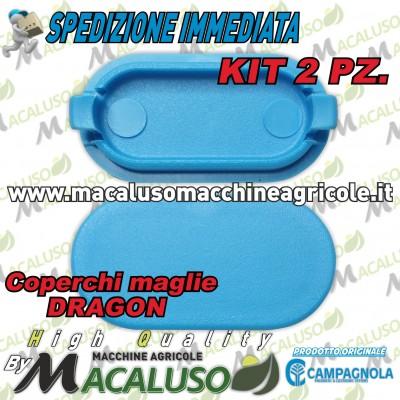 Kit 2 pz tappo maglia abbacchiatore sferzatore Dragon Campagnola 0183 0127