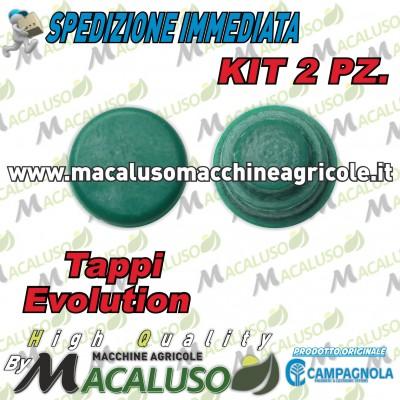 Kit 2 pz tappo distributore abbacchiatore Campagnola Olistar Evoluzione Colibrì Evoluzione 0133 0170