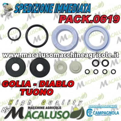 Kit guarnizioni Campagnola abbacchiatore Golia Diablo 1800 EVO Tuono EVO PACK0619