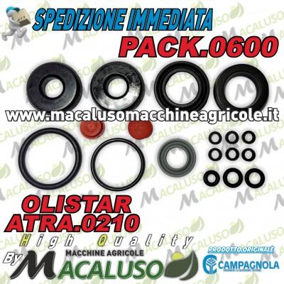 Kit guarnizioni Campagnola OLISTAR ATRA.0210 serie gommini PACK.0600