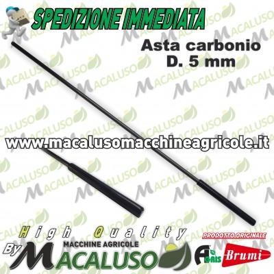 Asta in carbonio per abbacchiatore Olispeed Special mm.5 L.360