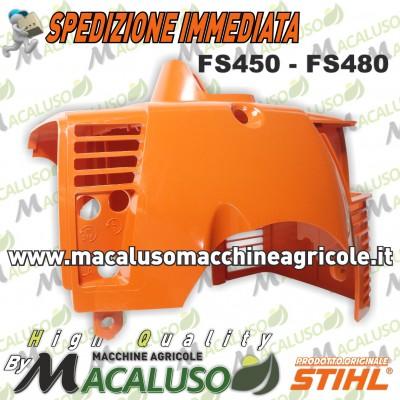 Cuffia copricilindro decespugliatore Stihl FS450 FS480 41280840909