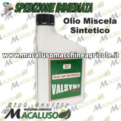 Olio miscela Valsynt 2T sintetico 1 LT 2 tempi motosega decespugliatore