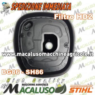 Filtro aria HD2 soffiatore aspiratore Stihl BG56 BG86 SH56 SH86 massa filtrante 42411404400