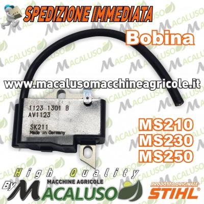 Bobina elettronica motosega Stihl MS210 MS230 MS250 modulo accensione 11234001301