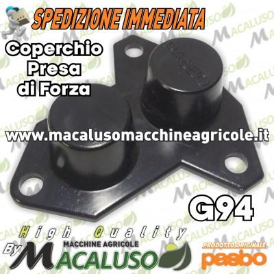 Coperchio presa di forza 3 fori motozappa Pasbo G94 copertura in plastica 094238000