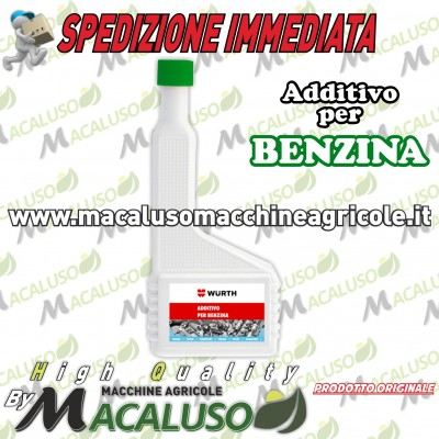 Additivo Wurth 200 ml per motore Benzina 0893 531 200