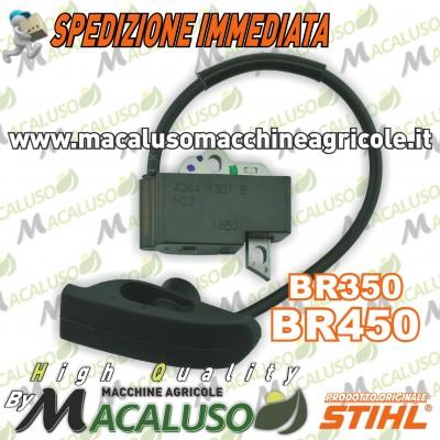 Bobina elettronica soffiatore Stihl BR350 BR450 modulo accensione 42444001303