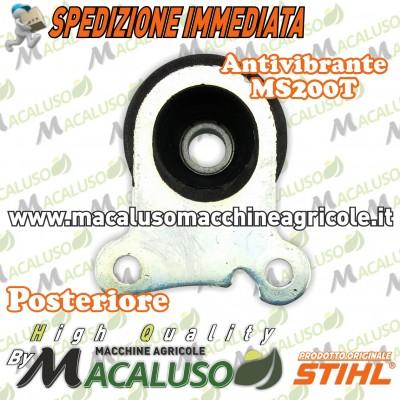Tampone gomma motosega Stihl 020T MS200T antivibrante posteriore ammortizzatore 11297909902
