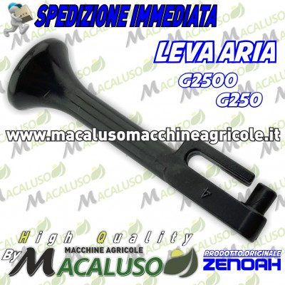 Leva aria motosega Zenoah G2500 G250 comando aria Komatsu 284182411