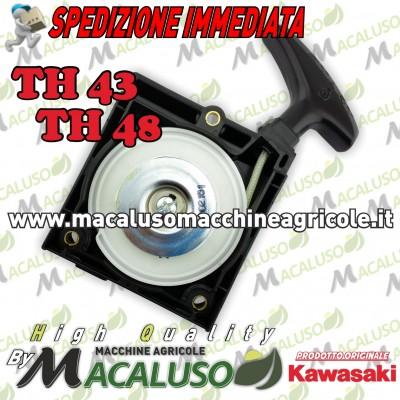 Gruppo avviamento decespugliatore Kawasaki TH43 TH48 490882442 motore puleggia