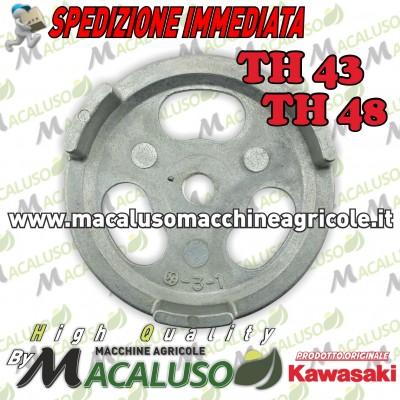 Puleggia avviamento decespugliatore Kawasaki TH43 TH48 innesto avvio 490802173