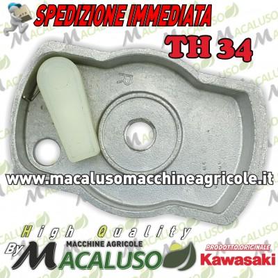Innesto avviamento decespugliatore Kawasaki TH34 puleggia avvio 490802134
