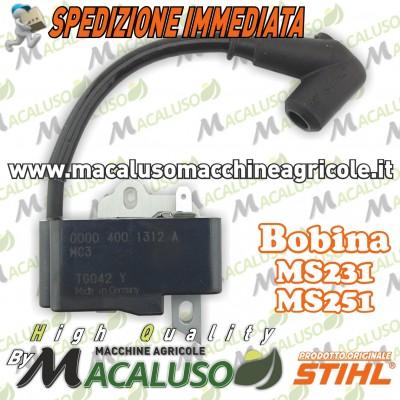 Bobina per motosega MS231-MS251 Stihl art.11434001310 modulo accensione