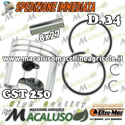 Pistone Motosega Oleomac GST250 Efco MTT2500 Emak gst 250 mtt 2500